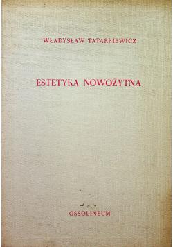 Estetyka nowożytna tom III