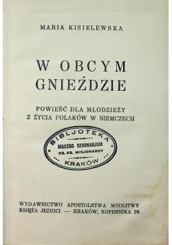 W obcym gnieździe 1935 r