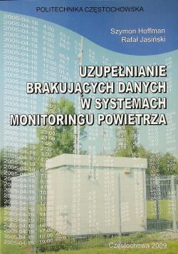 Uzupełnianie brakujących danych w systemach monitoringu powietrza
