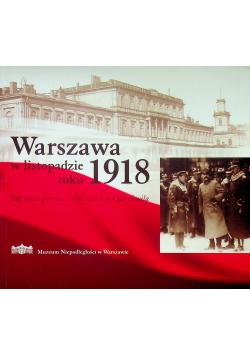Warszawa w listopadzie roku 1918