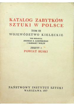 Katalog zabytków sztuki w Polsce tom III zeszyt 1