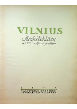 Vilnius architektura