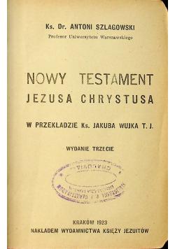Nowy testament Jezusa Chrystusa 1923r