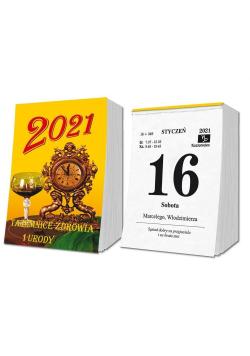 Kalendarz 2021 zdzierak SD2