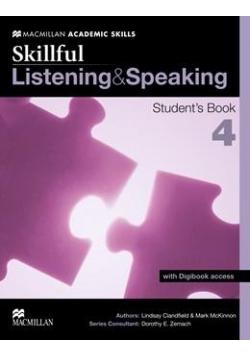 Skillful 4 Listening & Speaking SB + Digibook
