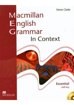 Macmillan English Grammar in Context Essential +CD