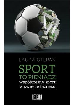 Sport to pieniądz