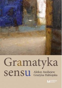 Gramatyka sensu