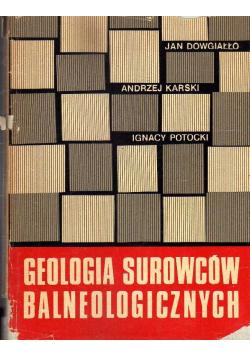 Geologia surowców balneologicznych