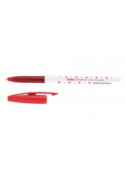 Długopis Superfine 0,5mm czer. (20szt) TOMA