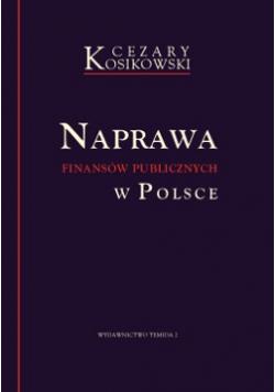 Naprawa finansów publicznych w Polsce