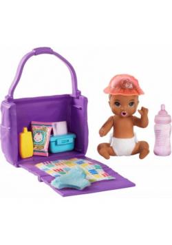 Barbie Lalka dziecko + akcesoria GHV86