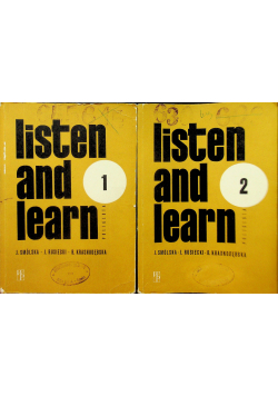 Listen and learn 2 Tomy