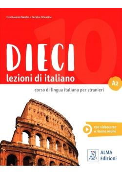 Dieci A2 podręcznik + DVD ROM