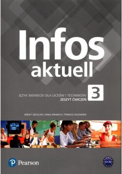 Infos aktuell 3 Język niemiecki Zeszyt ćwiczeń + kod dostępu
