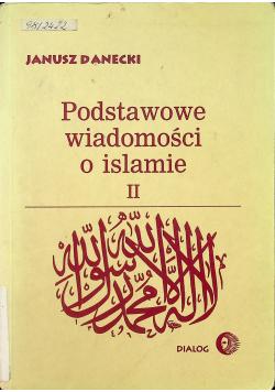 Podstawowe wiadomości o islamie tom II