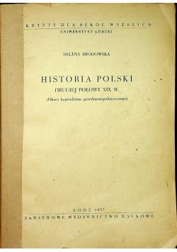 Historia Polski drugiej połowy XIX w