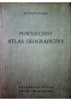 Powszechny atlas geograficzny 1938 r.