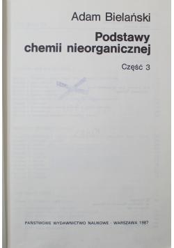 Podstawy chemii nieorganicznej Część 3