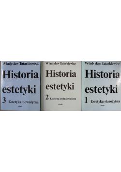 Historia estetyki 3 tomy