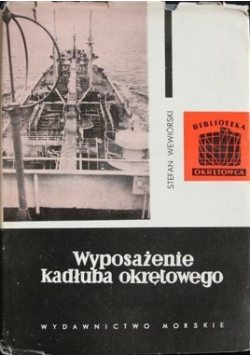 Wyposażenie kadłuba okrętowego