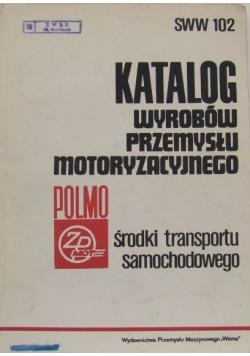Katalog wyrobów przemysłu motoryzacyjnego