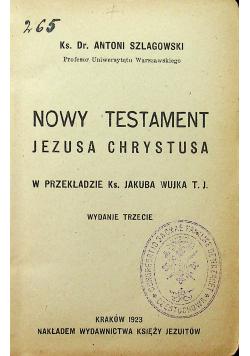 Nowy Testament Jezusa Chrystusa 1923 r