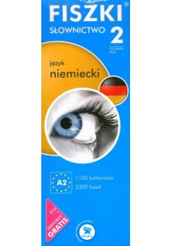 Fiszki słownictwo 2 język niemiecki Nowa