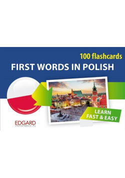 Polski 100 fiszek Pierwsze słowa dla obcokrajowców