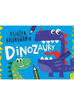 Książka do kolorowania Dinozaury