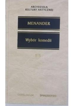 Menander Wybór komedii