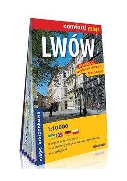 Comfort!map Lwów 1:10 000 plan miasta kieszonkowy