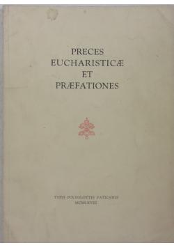 Preces Eucharisticae et Praefationes