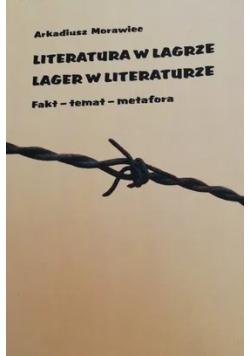 Literatura w Lagrze Lager w literaturze
