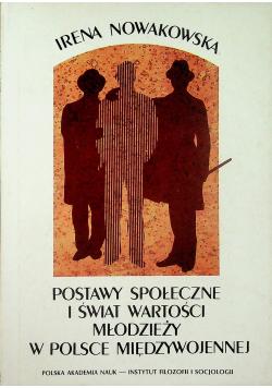 Postawy społeczne i świat wartości młodzieży w Polsce międzywojennej