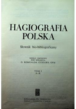 Hagiografia Polska tom 1