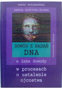 Dowód z badań DNA
