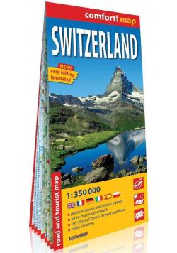 Comfort! map Switzerland 1:350 000 mapa