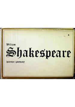 Shakespeare Wiersze i poematy