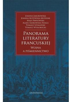 Panorama literatury francuskiej