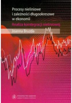 Procesy nieliniowe i zależności długookresowe w ekonomii