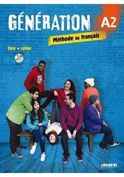 Generation A2 podręcznik + ćwiczenia + CD + DVD