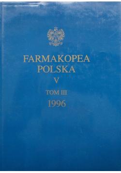 Farmakopea Polska V Tom III