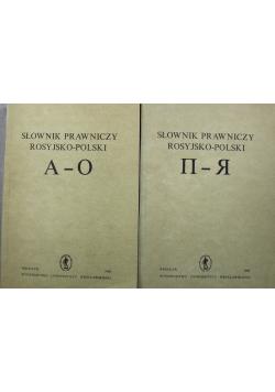 Słownik prawniczy rosyjsko polaki