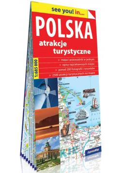 See you! in... Polska 1:685 000 mapa samochodowa