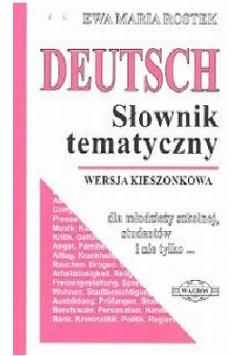 Deutsch Słownik tematyczne Wersja kieszonkowa
