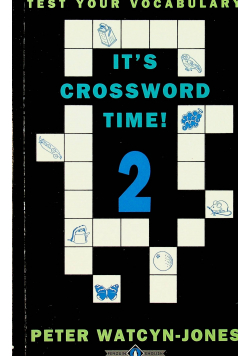 It's crossword time 2 + autograf Watcyn-Jones