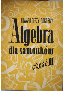 Algebra dla samouków część III