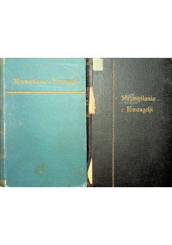 Rozmyślania o Ewangelji  2 tomy 1931 r.