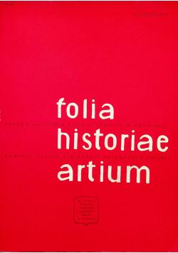 Folia historiae artium tom XVII